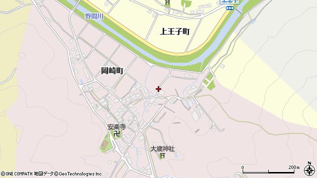 〒677-0065 兵庫県西脇市岡崎町の地図