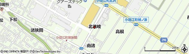 愛知県刈谷市小垣江町(北諸峻)周辺の地図