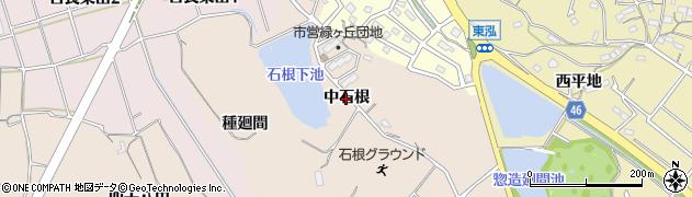 愛知県知多市日長(中石根)周辺の地図
