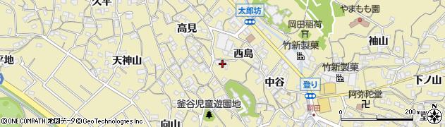 枡磯周辺の地図