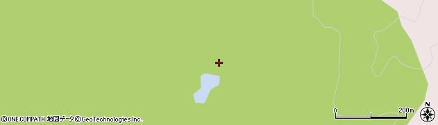 愛知県岡崎市南大須町(峯)周辺の地図