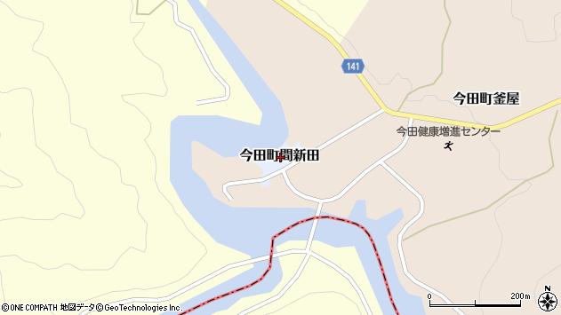 〒669-2144 兵庫県丹波篠山市今田町間新田の地図