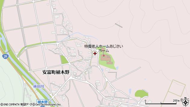 〒671-2426 兵庫県姫路市安富町植木野の地図