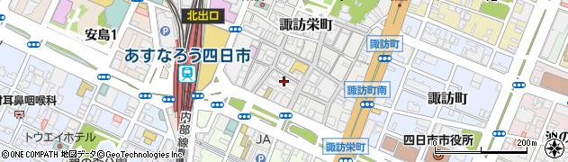 ローレルタワーシュロア四日市周辺の地図
