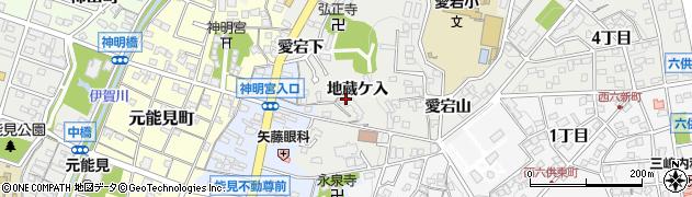 善光寺岡崎別院周辺の地図