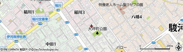 静岡県静岡市駿河区大坪町8-3 住所一覧から地図を検索|マピオン