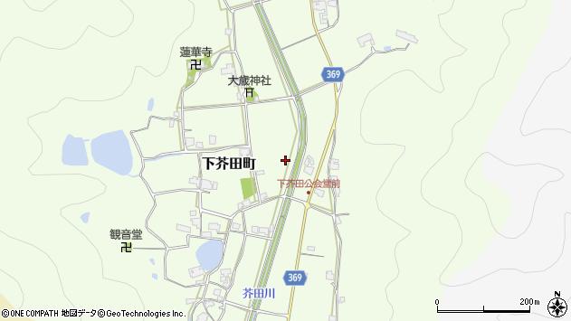 〒675-2464 兵庫県加西市下芥田町の地図