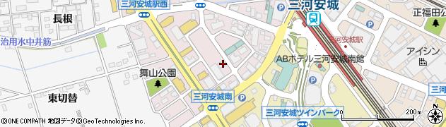 BUZZ周辺の地図