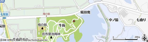 愛知県知多市佐布里(糀田奥)周辺の地図