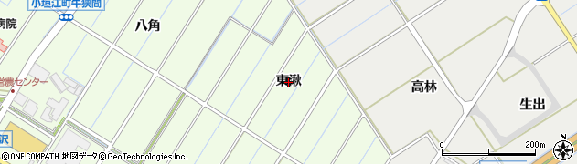 愛知県刈谷市小垣江町(東湫)周辺の地図