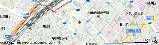 静岡県静岡市駿河区泉町周辺の地図