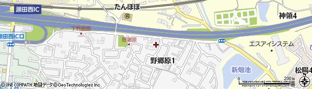 滋賀県大津市野郷原1丁目7-1周辺の地図