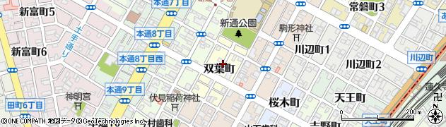 静岡県静岡市葵区双葉町周辺の地図