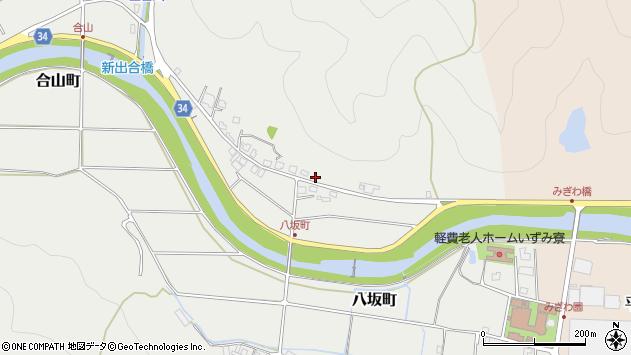 〒677-0064 兵庫県西脇市八坂町の地図