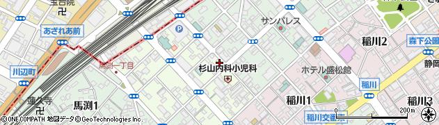 釜寅 静岡中央店周辺の地図