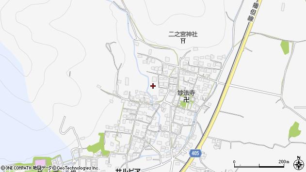 〒679-2211 兵庫県神崎郡福崎町山崎の地図