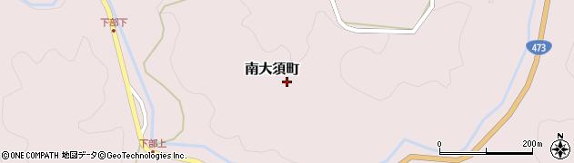 愛知県岡崎市南大須町(藤巻)周辺の地図