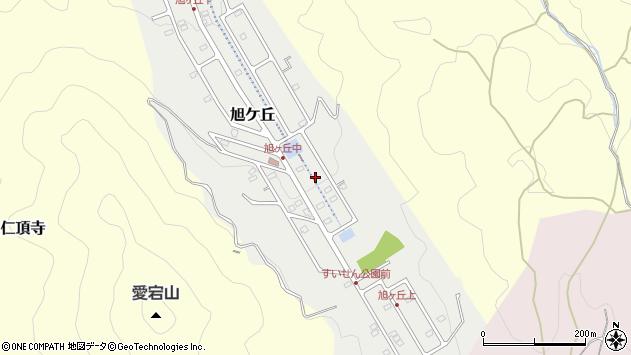 〒666-0212 兵庫県川辺郡猪名川町旭ケ丘の地図
