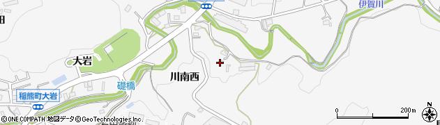 愛知県岡崎市箱柳町(川南西)周辺の地図