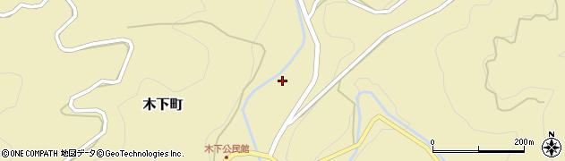 愛知県岡崎市木下町(河原田)周辺の地図