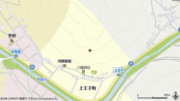 〒677-0069 兵庫県西脇市上王子町の地図