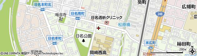 演歌王 岡崎店周辺の地図
