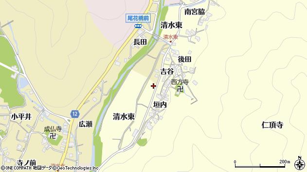 〒666-0213 兵庫県川辺郡猪名川町清水東の地図