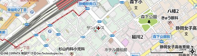 静岡県暴力追放運動推進センター(公益財団法人)周辺の地図