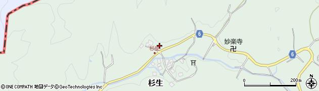 大阪府高槻市杉生(河原田)周辺の地図