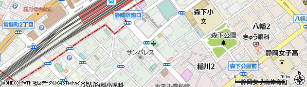 美代司鮨周辺の地図