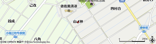 愛知県刈谷市高須町(山ノ神)周辺の地図