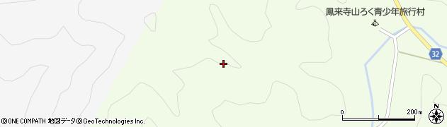 愛知県新城市門谷(水ノ谷下)周辺の地図