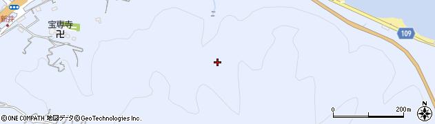 静岡県伊東市新井周辺の地図