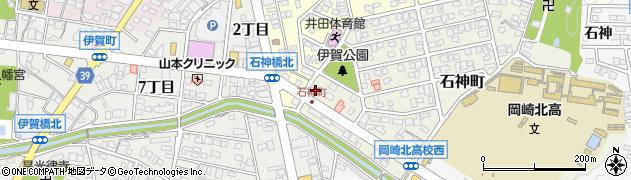 一喜周辺の地図