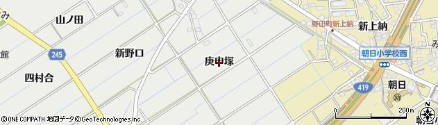 愛知県刈谷市半城土町(庚申塚)周辺の地図
