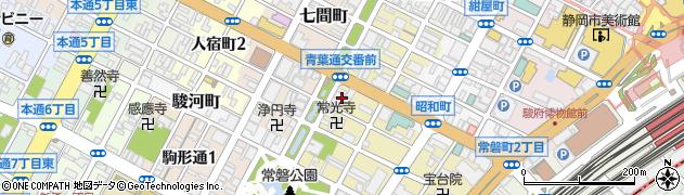 なごや周辺の地図