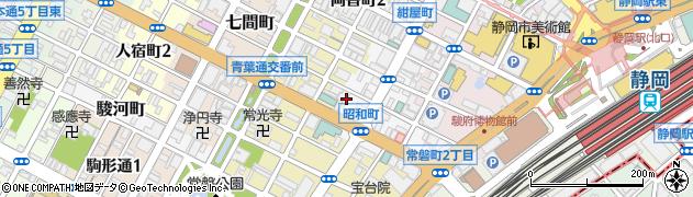 博周辺の地図