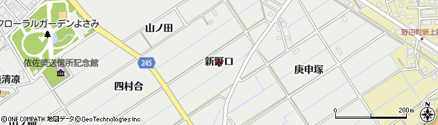 愛知県刈谷市高須町(新野口)周辺の地図