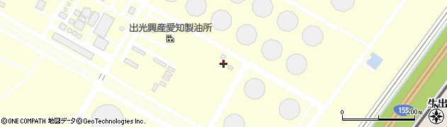 愛知県知多市南浜町周辺の地図