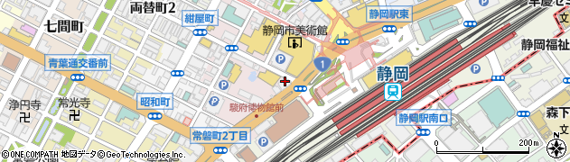 マツダオートリース株式会社 静岡支店周辺の地図