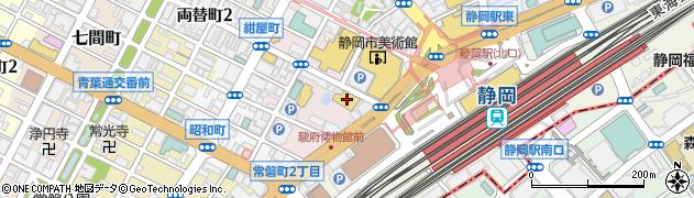 hugcoffee 紺屋町店周辺の地図