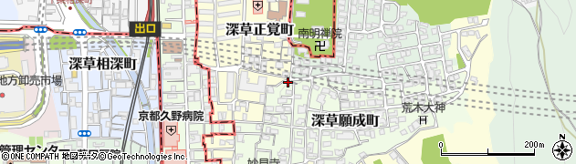 阪神高速8号京都線周辺の地図