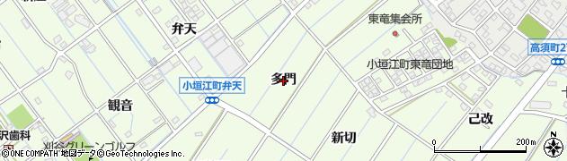 愛知県刈谷市小垣江町(多門)周辺の地図