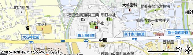 折上神社周辺の地図