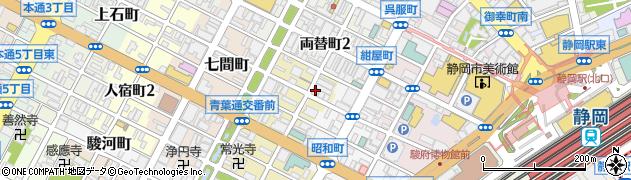 キャバレークラブナンバー1周辺の地図