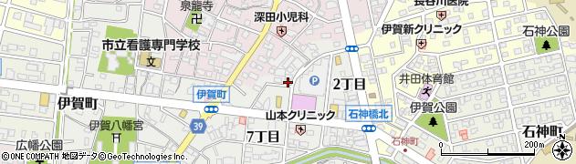 三八周辺の地図