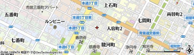 静岡県静岡市葵区梅屋町周辺の地図