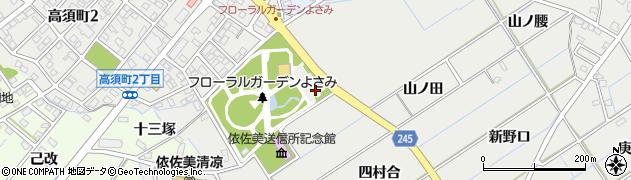 愛知県刈谷市高須町(神山)周辺の地図