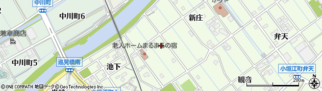 愛知県刈谷市小垣江町(荒池)周辺の地図