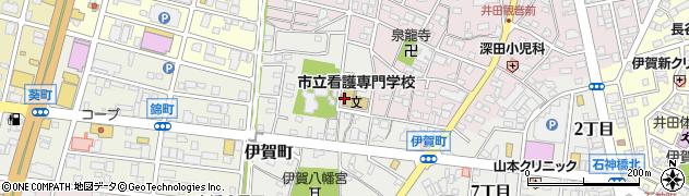 愛知県岡崎市伊賀町(西郷中)周辺の地図